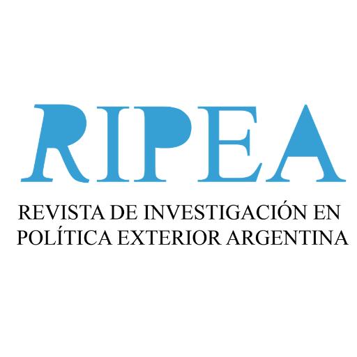 RIPEA. Revista de Investigación en Política Exterior Argentina RIPEA es un espacio editorial de publicación de artículos de opinión, artículos académicos y reseñas bibliográficos sobre política exterior Argentina.